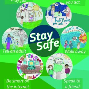 Stay Safe Safety Poster