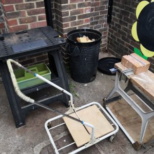 Outdoor workbenches